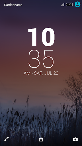 XPERIA Theme: Soffie - screenshot