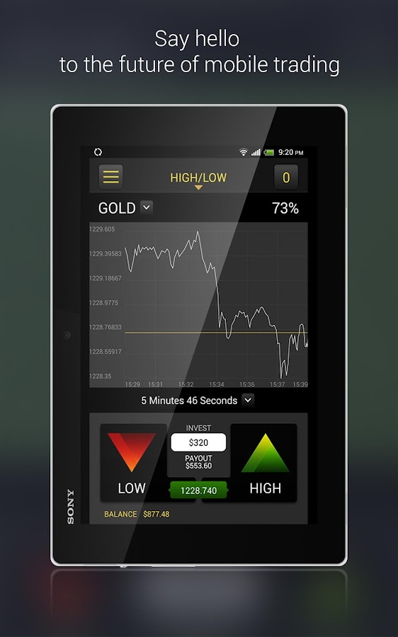 Binary Options Trading Screenshot 5