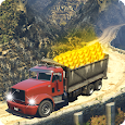 Off-Road Gold Truck Simulator-Transport Gold Mania