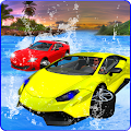 Water Surfing Car Racing 3D APK for Bluestacks