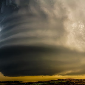 Under the Meso by Eric Anderson - Landscapes Weather ( meso, weather, severe, landscapes, storm )