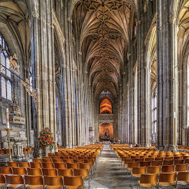 Canterbury Cathedral by Johan Koch - Buildings & Architecture Places of Worship ( canterbury, cathedral )