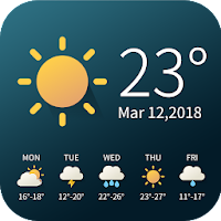 Real-time weather temperature report & widget PC Download Windows 7.8.10 / MAC