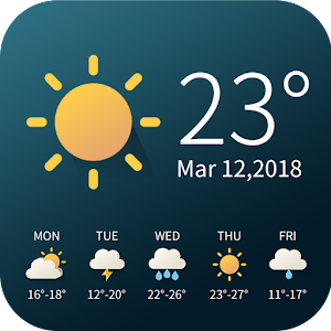 Real-time weather temperature report & widget For PC / Windows 7/8/10 / Mac – Free Download