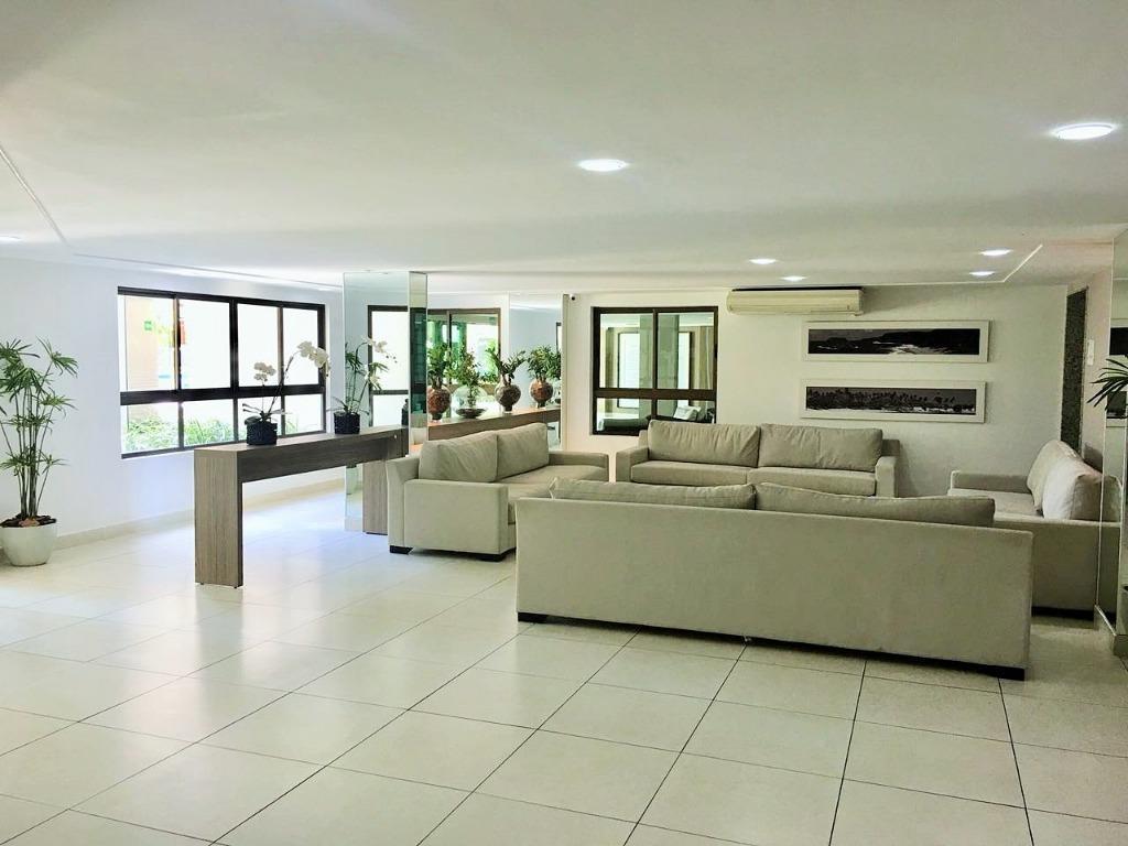 Apartamento residencial à venda, Cabo Branco, João Pessoa.