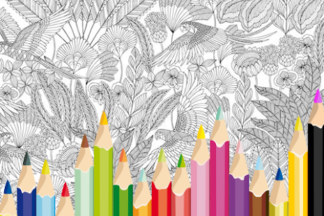 Adult Coloring: Animal Kingdom - screenshot