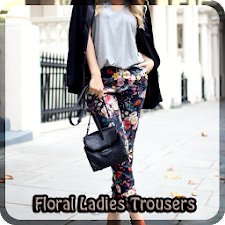 Floral Ladies Trousers