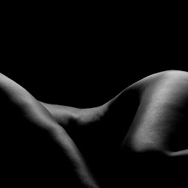 BodyScape by Robert McDougall - Nudes & Boudoir Artistic Nude ( body, nude, black and white, art, bodyscape )