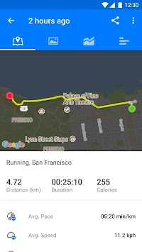 Runtastic Running & Fitness APK screenshot thumbnail 3
