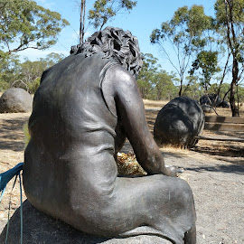 The Stolen Generation Where is my Baby by Bren Hamilton Groom - Buildings & Architecture Statues & Monuments