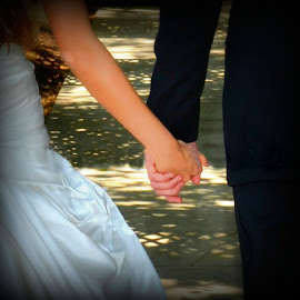Together by Brenda Shoemake - Wedding Bride & Groom