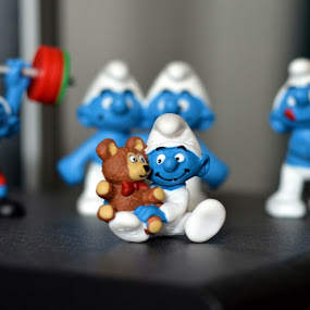 smurfes by En Ric - Artistic Objects Toys