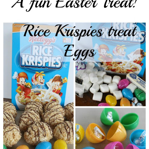 Easter – Rice Krispies Treat Eggs!
