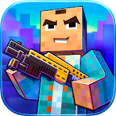 Block City Wars + skins export APK Descargar