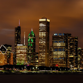 Chicago by Venkatauday Bommisetty - City,  Street & Park  Skylines ( skyline )