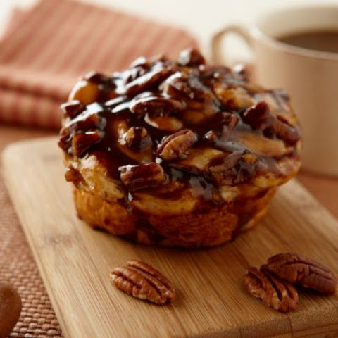 Pecan and Caramel Cinnamon Rolls