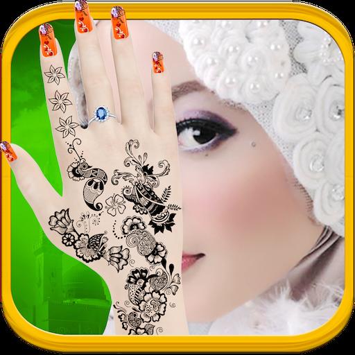 Hijab Hand Art - 3D Hand (game)