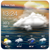 Clock & Weather - Voyager APK for Lenovo