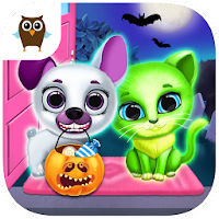 Kiki & Fifi Halloween Salon - Scary Pet Makeover For PC Free Download (Windows/Mac)