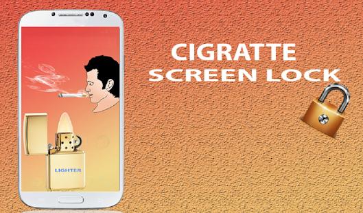 Cigarette Smoke Lock Screen APK for Bluestacks