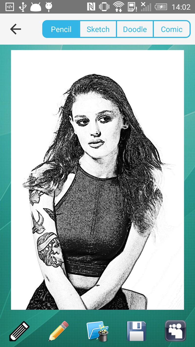 Pencil Sketch Ad-Free Screenshot 0