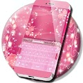 Pink Keyboard Rose Theme APK Descargar