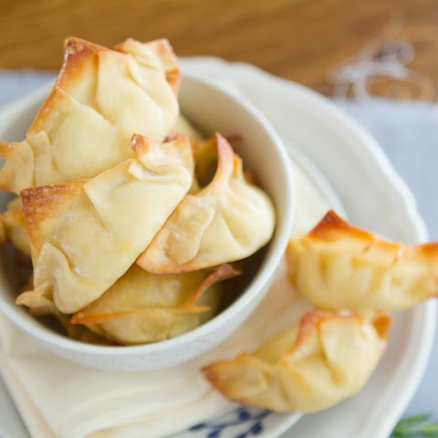 Roasted Corn And Cream Cheese Potstickers