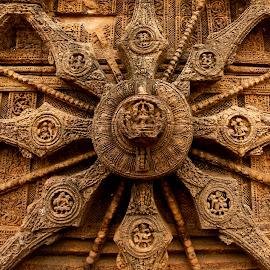 Wheel of passion by Rishabh Asthana - Buildings & Architecture Statues & Monuments ( erotic, sculpture, sun temple, wheels, konark, stone, india )