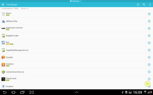 ES Task Manager (Task Killer ) screenshot 8