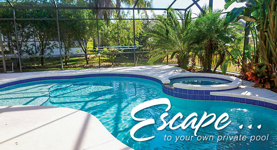 Escape ... to your own private pool