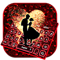 Romantic Valentines Rose Love Keyboard APK