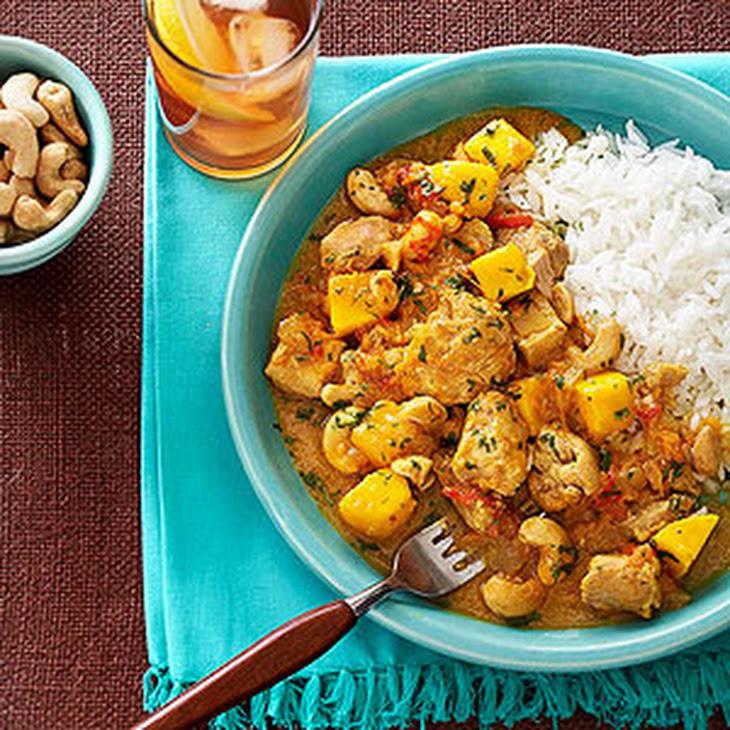 ... mango chicken curry easy pan fried mango curry chicken steamy kitchen