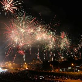 fireworks!! by Ferysetya Ma - Abstract Fire & Fireworks