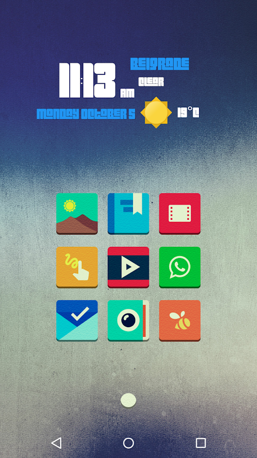 Tenex - Icon Pack Screenshot 0