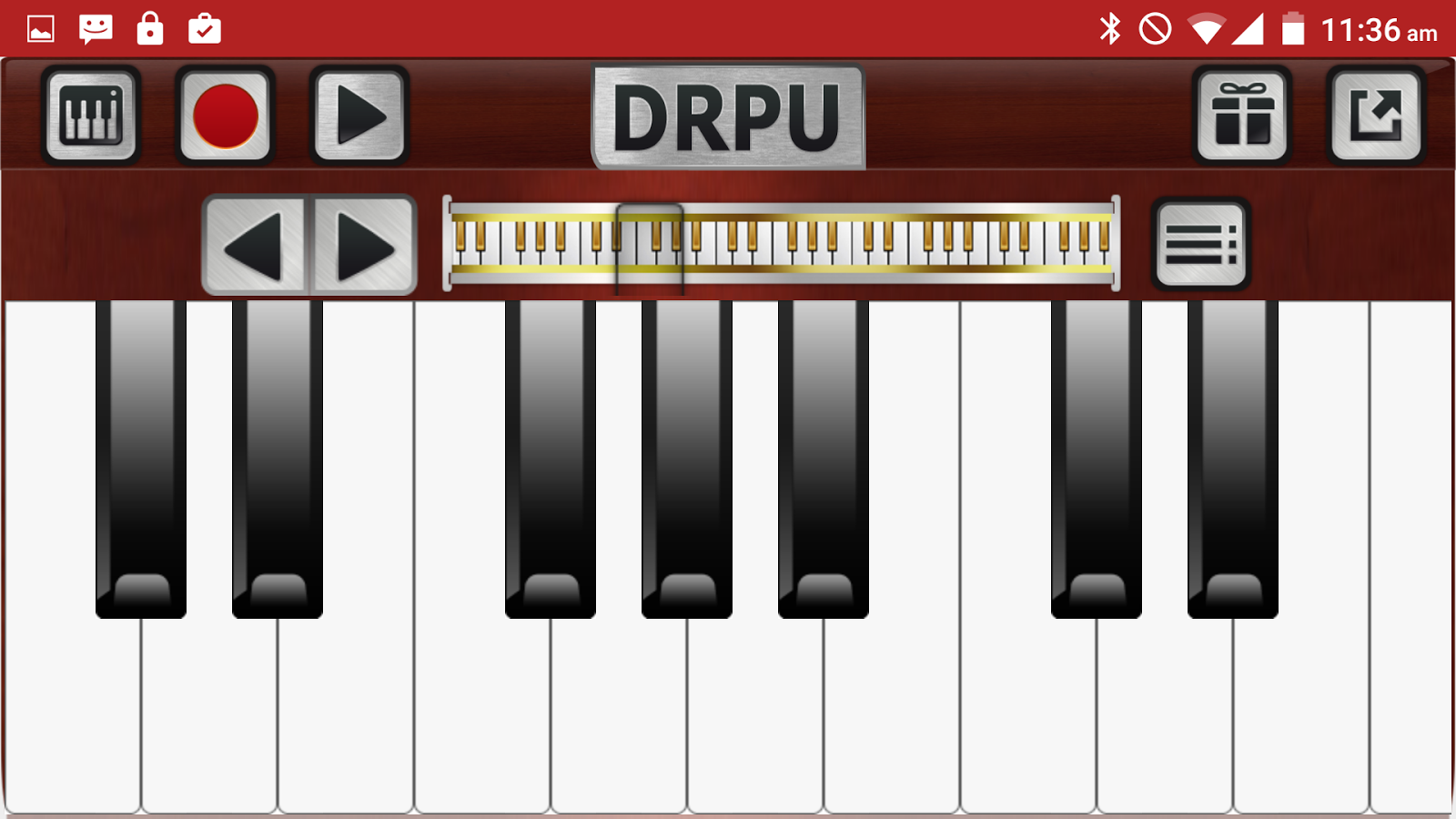 Piano Keyboard Music Pro Screenshot 5