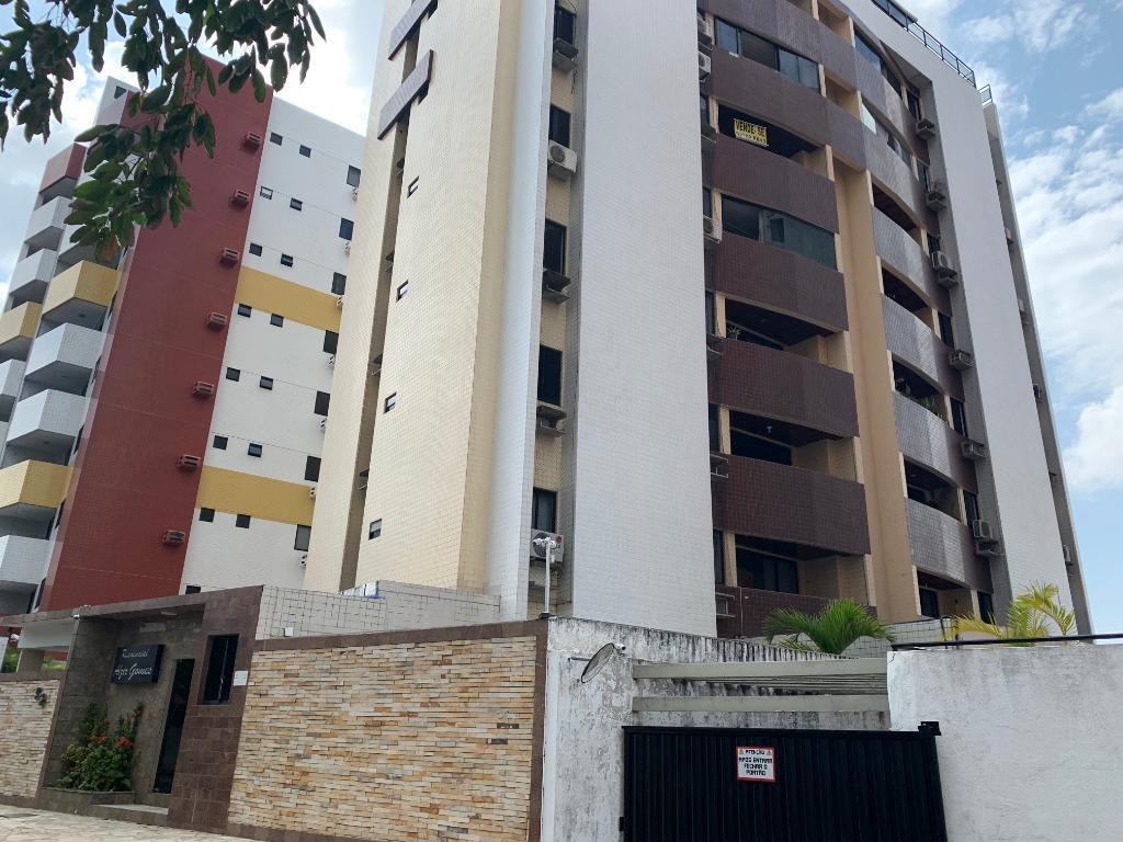 Apartamento com 3 dormitórios para alugar, 98 m² por R$ 920/ano - Aeroclube - João Pessoa/Paraíba