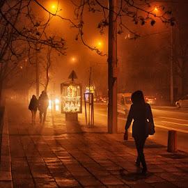 by Estislav Ploshtakov - City,  Street & Park  Street Scenes