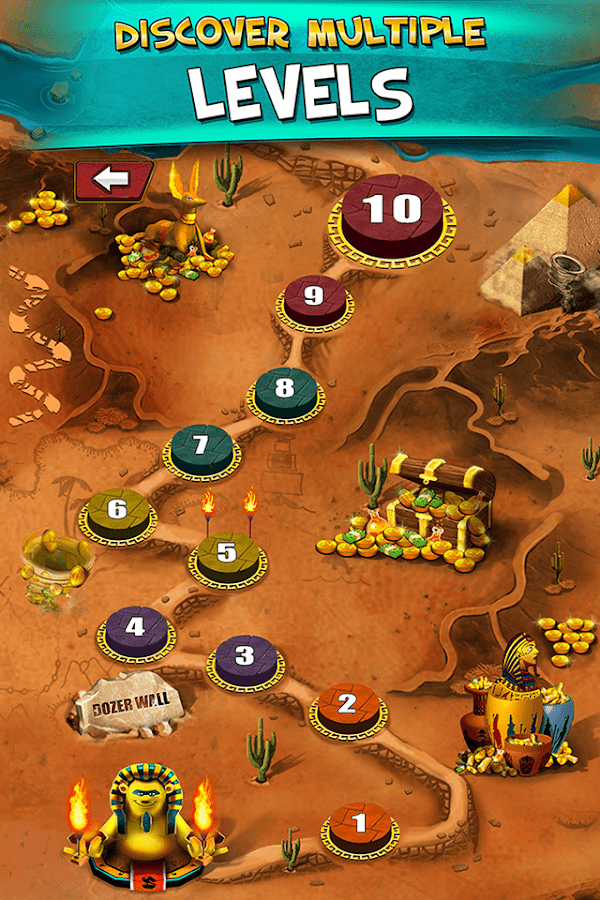 Pharaoh's Party: Coin Pusher Screenshot 1