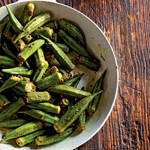 Indian-Spiced Okra
