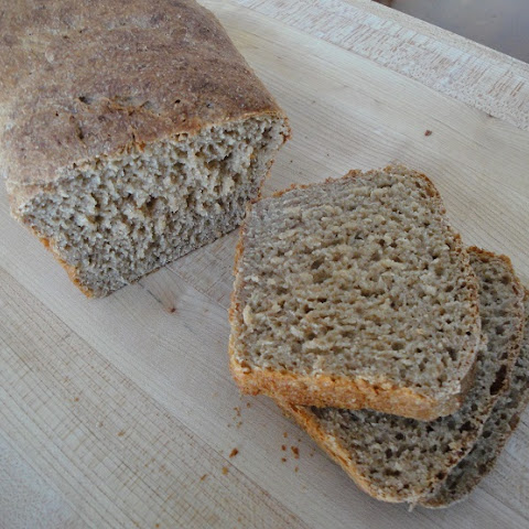 Soaked 100% Whole Wheat Bread for Breadmaker/Bread Machine