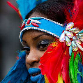 Colorful Indian by VAM Photography - People Street & Candids ( parade, color, woman, costume, west indies,  )