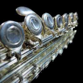 Reflections by Melissa Davis - Artistic Objects Musical Instruments ( music, missysphotography.com, flute, flutes, instrument )