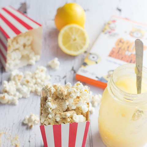 Lemon Meringue Gourmet Popcorn