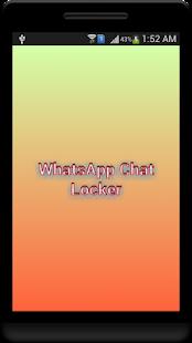 App WhatsApp Chat Locker apk for kindle fire