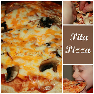 Pita Pizza {Kid Friendly Recipe}