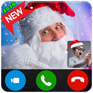 Phone Call From Mr Santa Claus - Live Video Call For PC