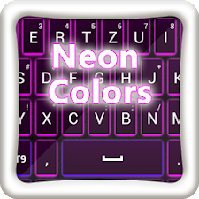 GO Keyboard Neon Colors