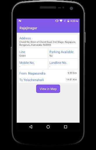 BMRCL Bangalore Metro screenshot 4