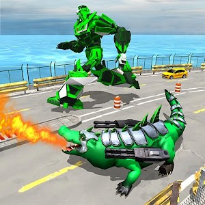 Download Real Robot Crocodile For PC Windows and Mac