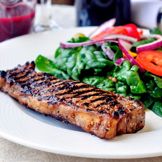 Dijon Balsamic Marinated Steak